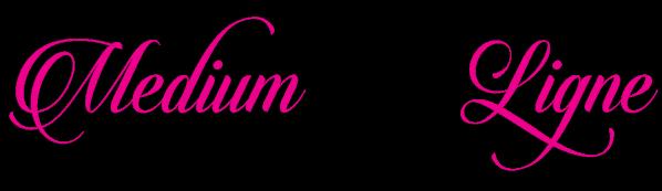 Logo mel rose et noir 1